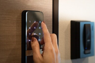 keyless entry smart lock